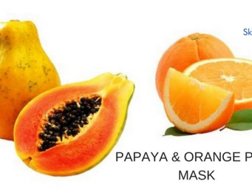 Papaya & Orange Peel Powder Mask